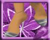 ^VL silver stripe shoes