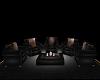 Classic Black Chair Set