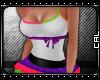 [c] Bow Belt Purple