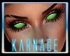 Light Green Demon Eyes