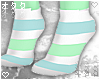 ☯Blue/Mint-Socks☯