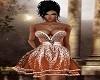 ~Orange Destanie Dress~