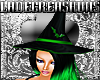 KraftyWitch Hat Green