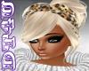DT4U Blond leopard bow