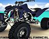 Purple ATV Quad