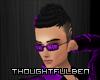 <TB> Purple Sunglasses