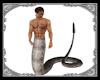 JB silver snake tail