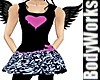Lil Ballerina Pink Heart