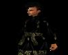 Tahari Robe Black/Gold