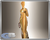 lady in gold statue