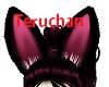 [TW]black bunny ears