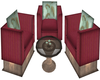 Cottage Chat Chairs
