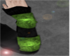 Armoured Green bracers