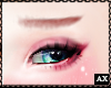 舍. Pink Eyebrows