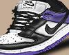 court purple dunks