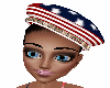 4th of July  Beret