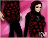 24:Black Red Hijab