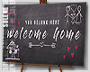 s | Welcome Home