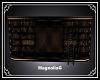 ~MG~ Crimson Bookcase
