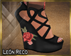 ♣ Shoes Roses