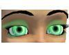Crystal Green Eyes