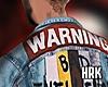 H ♠ Warning Jacket