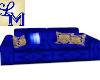 !LM Med Fun Blue Couch