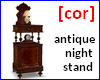 [cor] Antique nightstand