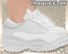 *MD*White Chunk Sneakers