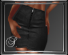 (SL) Black Zipper Skirt