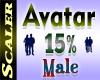 Avatar Resizer 15%