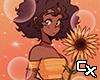 Sunflower Girl Cutout v7