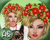 ~Ae~Wreath Hair Hibiscus