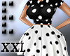 -Ext. Poka Dot Dress XXL