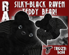 WINGED RAVEN TEDDY BEAR!