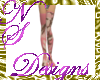 NS 020 LEGGINGS Cam Pink