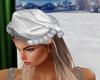 X-mas silver hat