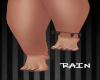 Black Anklet L