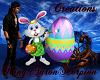 {KAS}Easter Bunny W/Egg