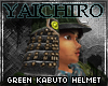 Green Kabuto Helmet