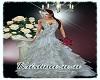 Bride white dress