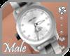 ~AK~ Silver Watch