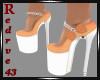 Dina Floral Tan Shoes
