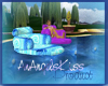blue swirl raft
