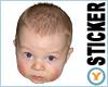 Cute Baby Head
