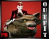 Vamp Riding Wolf