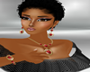 ZL WineRed Jewelry Set
