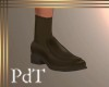 PdT Loafer Brown w Sox M