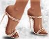 Rosé Goddess Heels