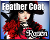 Rozen Feather Red Black